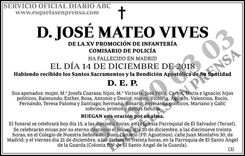 José Mateo Vives